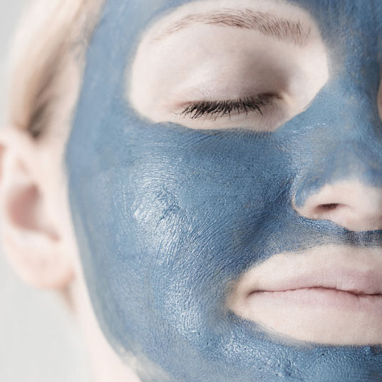 Woman receiving obagi blue peel facial peel